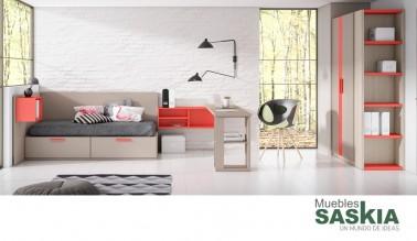 Muebles modernos, habitación juvenil