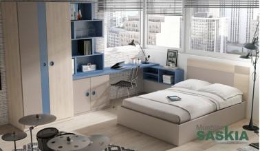 Habitación juvenil, composición