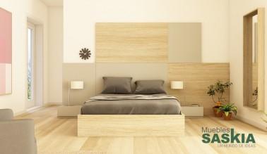 Dormitorio moderno, muebles actuales