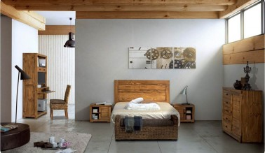 Dormitorio rústico 124