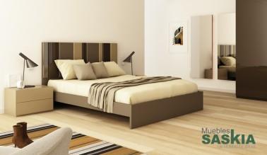 Dormitorio de tendencia, actual