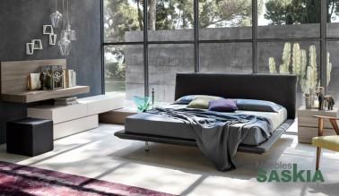 Habitación moderna, original composición