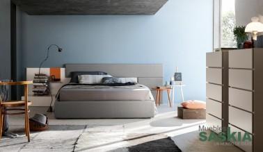 Habitación moderna composición luminosa