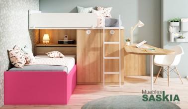 Dormitorio para dos, moderno