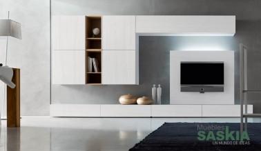 Muebles de salón color claro