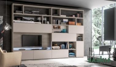 Muebles de salón color beige