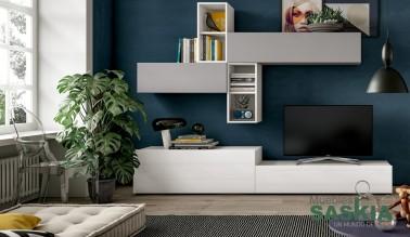 Muebles de salón colores claros