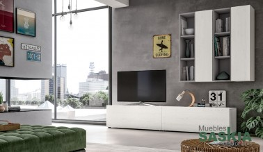 Muebles de salón con textura