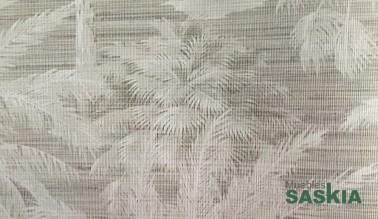 Papel pintado, sombra palmeras