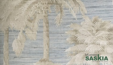 Papel pintado, palmeras con textura