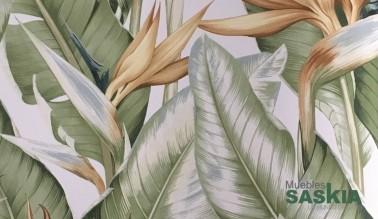 Papel pintado, motivo plantas