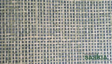 Papel pintado, fibras verdes