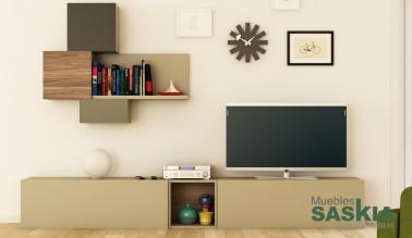 Conjunto de muebles de salón moderno