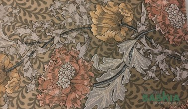 Tapizado floral para muebles