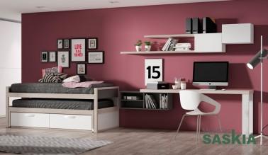 Habitación moderna, juvenil