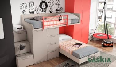 Dormitorio juvenil, moderno