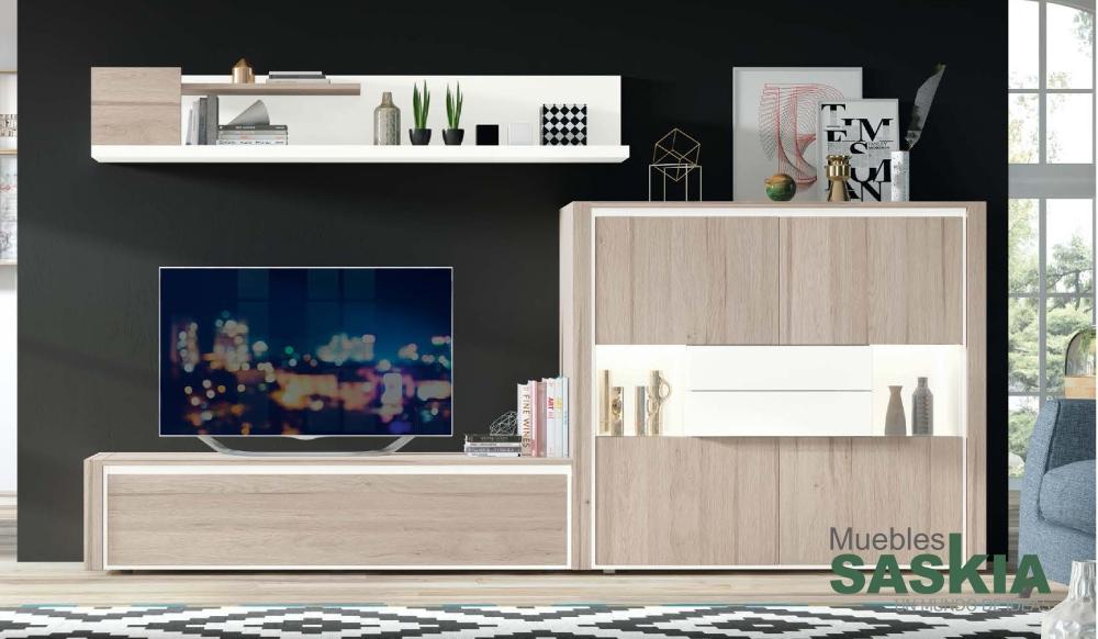 Mueble de salón, moderno 102 Rosamor