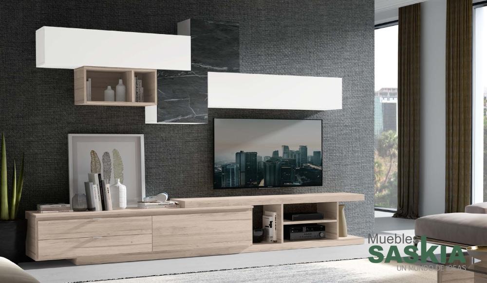 Composición de salón moderno, conjunto 4
