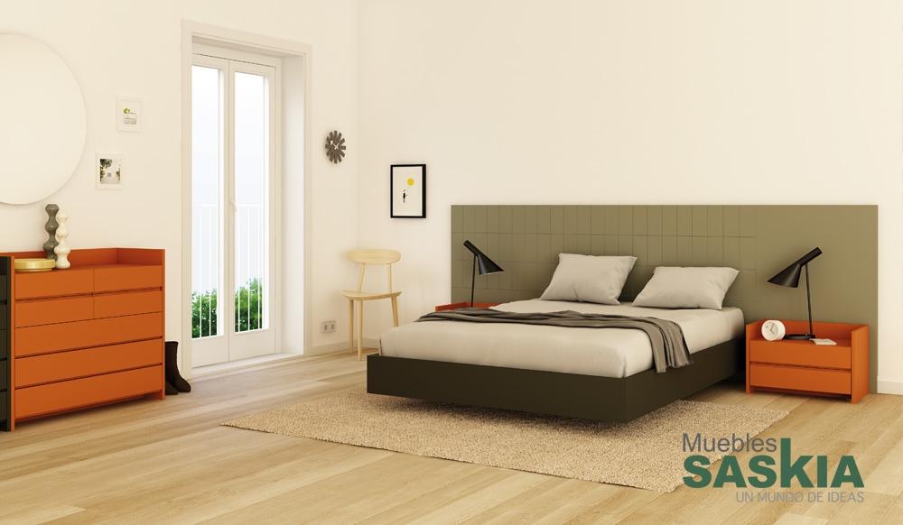 Composición para dormitorio moderno