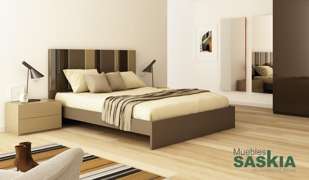 ambientes de dormitorio moderno muebles saskia en pamplona On tendencia actual en muebles