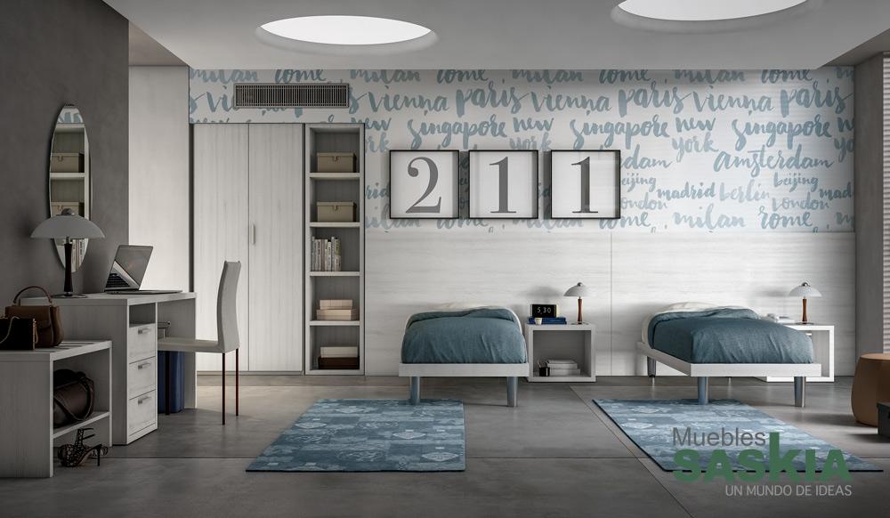 Habitación moderna Olmo Gesso