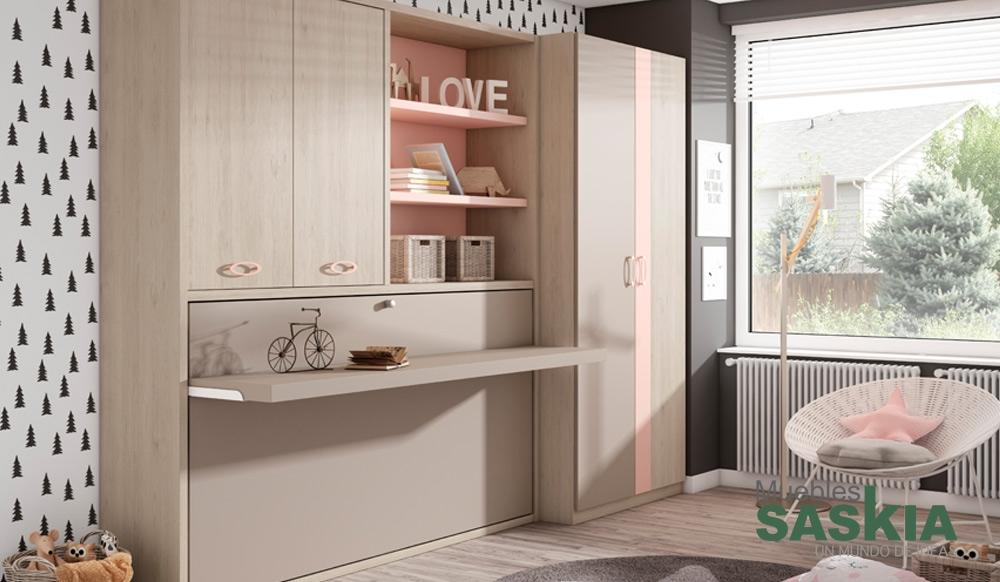 Ambientes de juvenil moderno muebles saskia en pamplona - Dormitorios juveniles pamplona ...