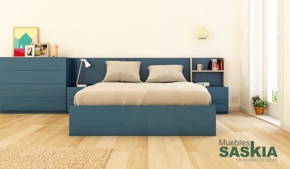 Dormitorio moderno actual muebles saskia en pamplona for Actual muebles