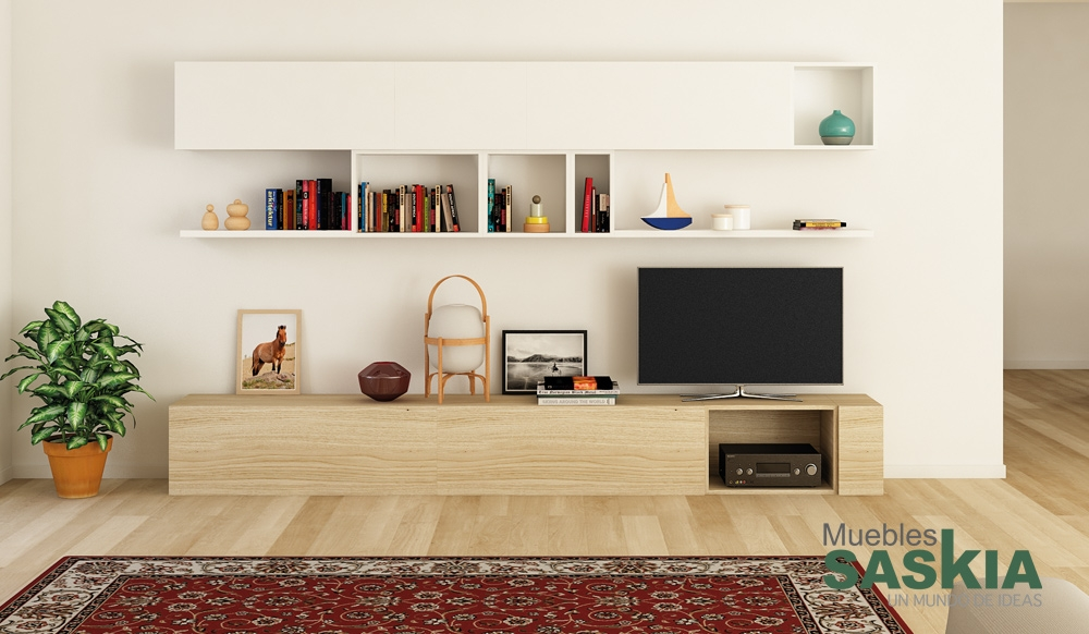 Sal n moderno dise o elegante muebles saskia en pamplona - Diseno salon moderno ...