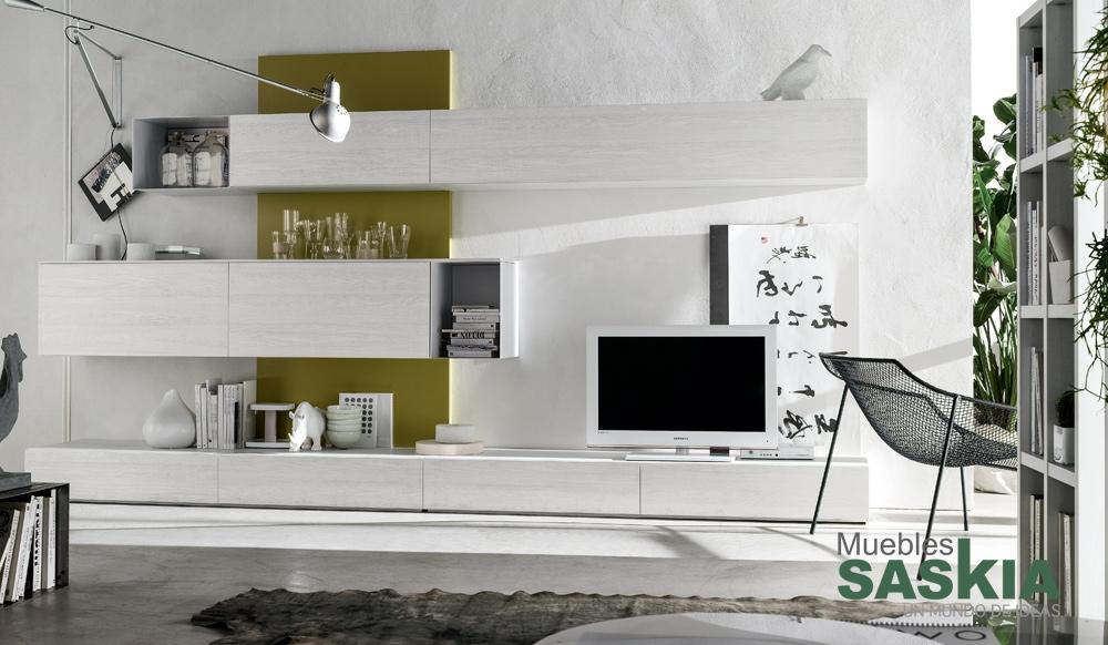 Curioso muebles de sal n muebles saskia en pamplona for Muebles salon pamplona