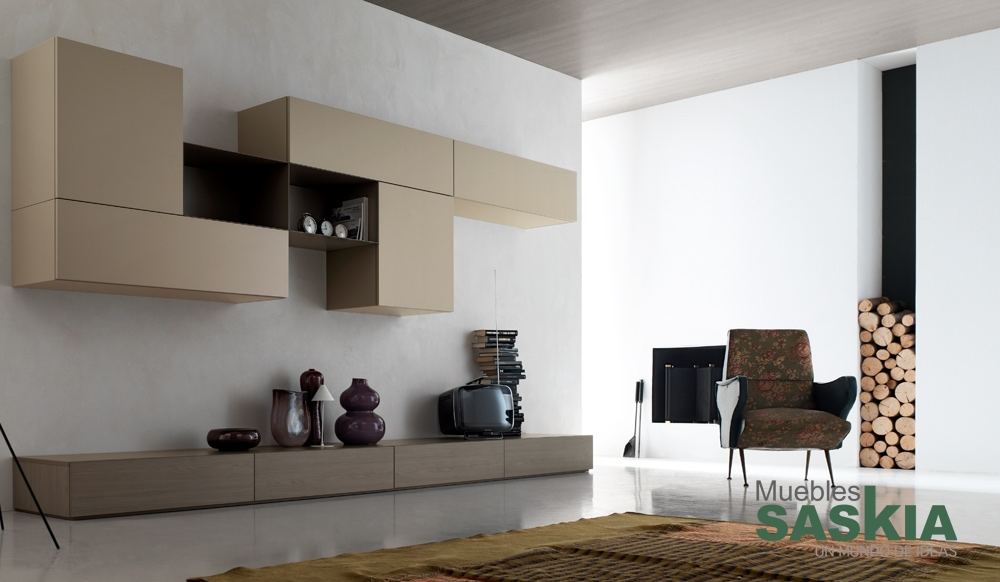 Muebles de sal n funcional muebles saskia en pamplona for Muebles saskia
