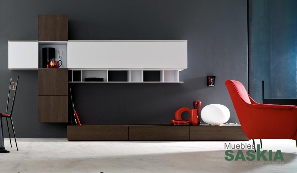 Muebles de sal n liviano muebles saskia en pamplona for Muebles salon pamplona