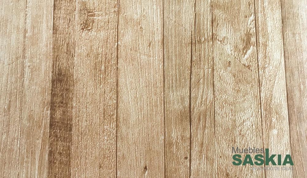 Papel pintado, simulación de pared de madera