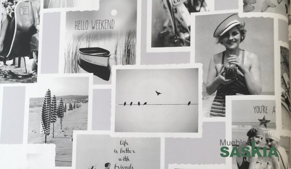 Papel de pared, diseño de fotografías