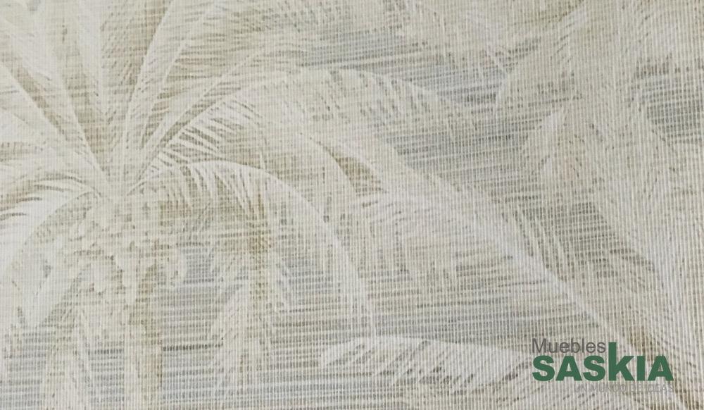 Papel pintado, motivo de palmeras
