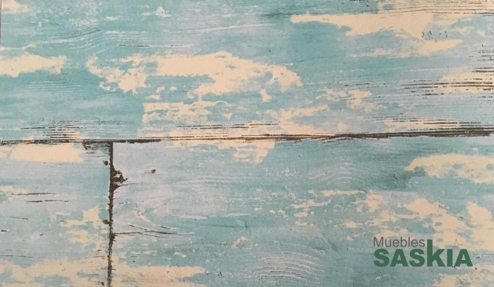Papel pintado, madera desgastada