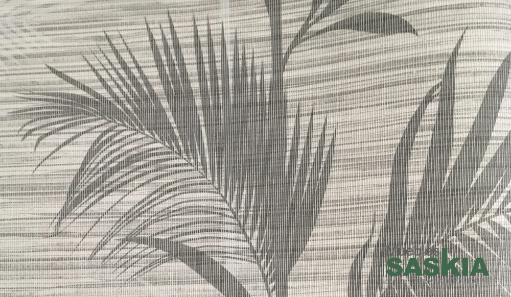 Papel pintado, palmeras