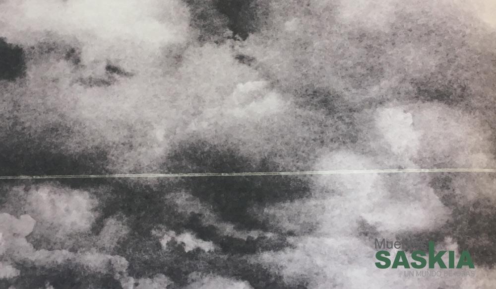 Papel pintado, nubes