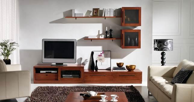 Sal n decora teka 35 muebles saskia en pamplona for Muebles salon comedor conforama