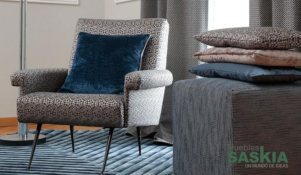 Tela moderna para tapizar muebles