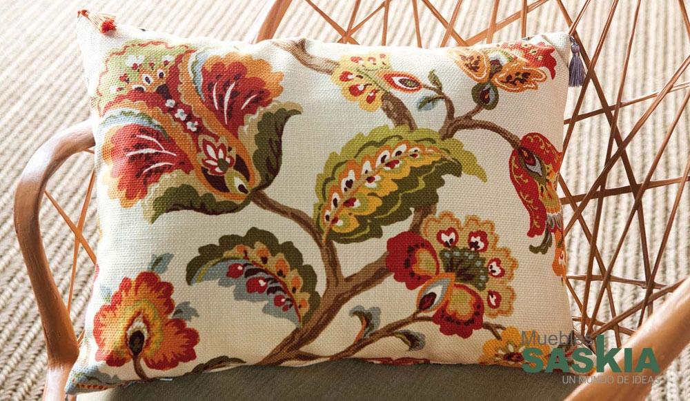 Tejido para tapizar, floral