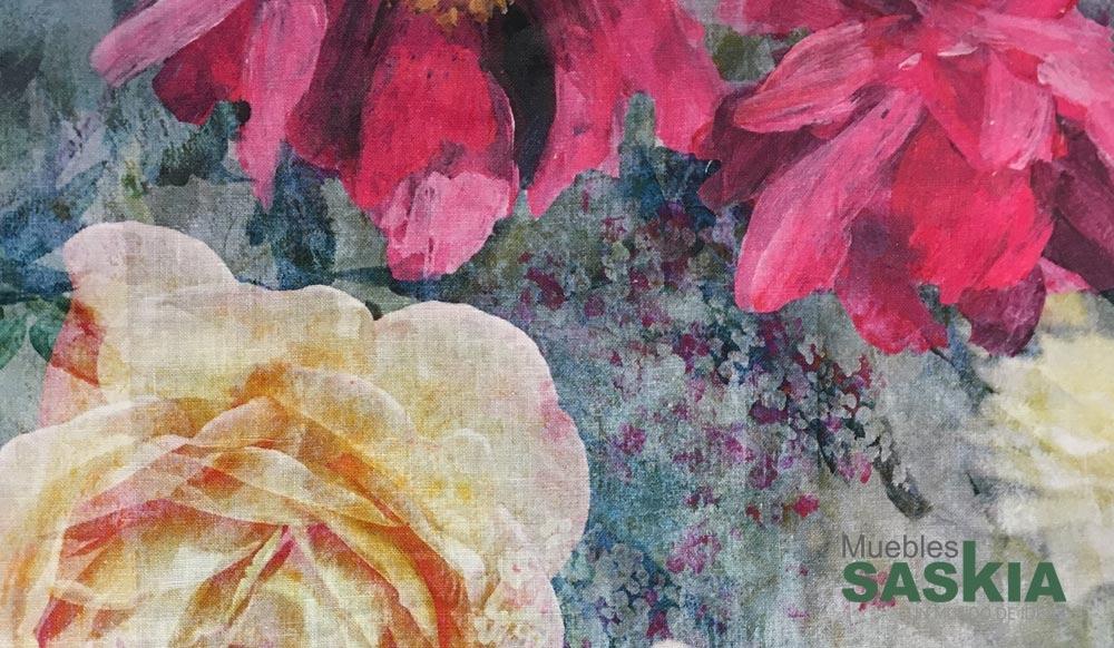 Estampado floral para tapizar