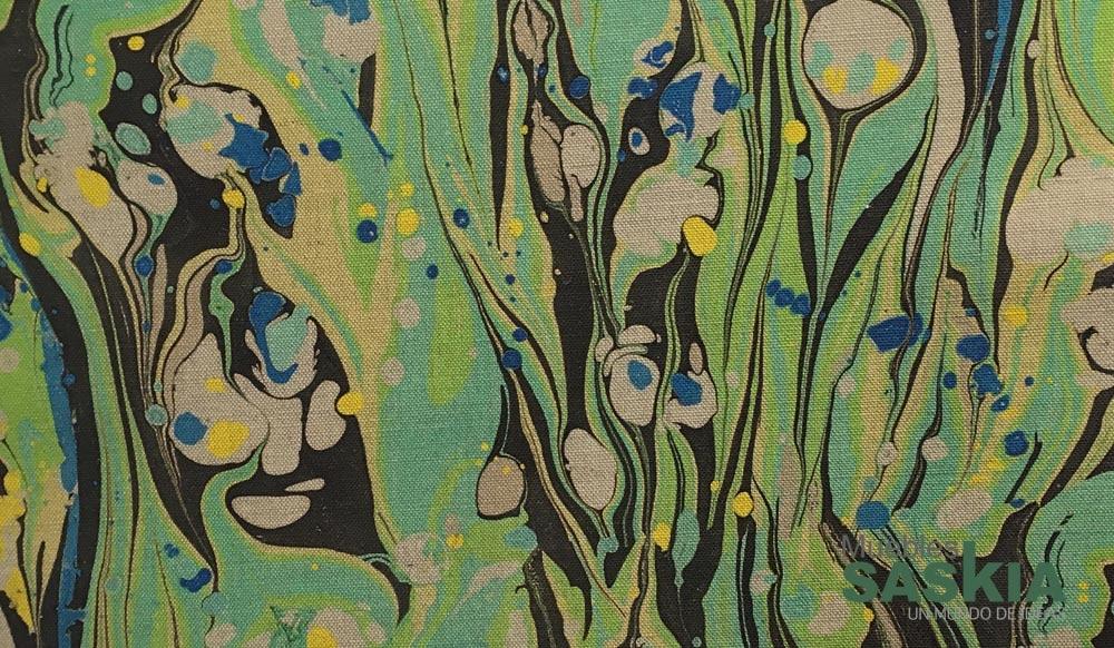 Moderno tejido de tapicería
