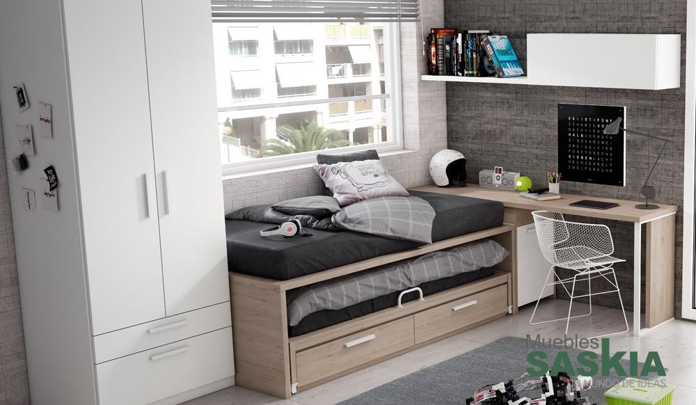 Conjunto muebles juveniles muebles saskia en pamplona - Muebles en pamplona ...