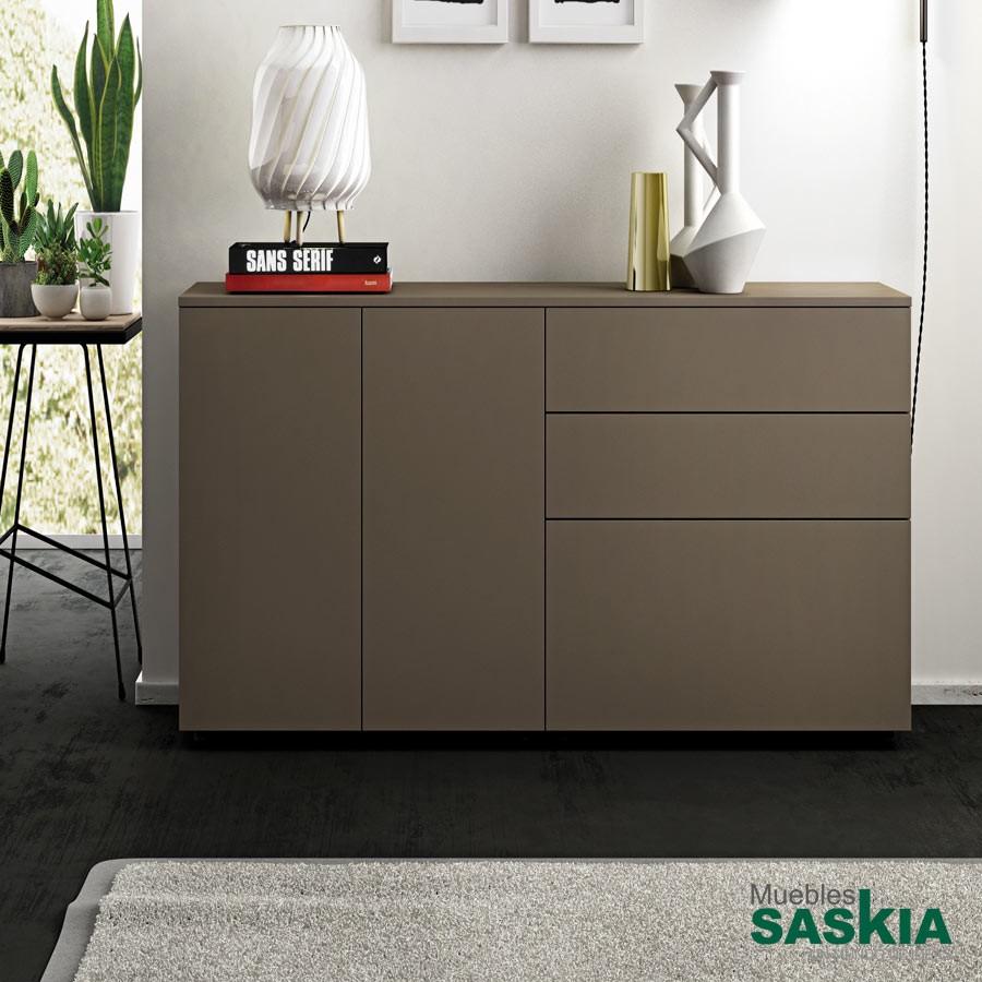 Aparador moderno 2 puertas aparador doimo 9 muebles for Muebles saskia