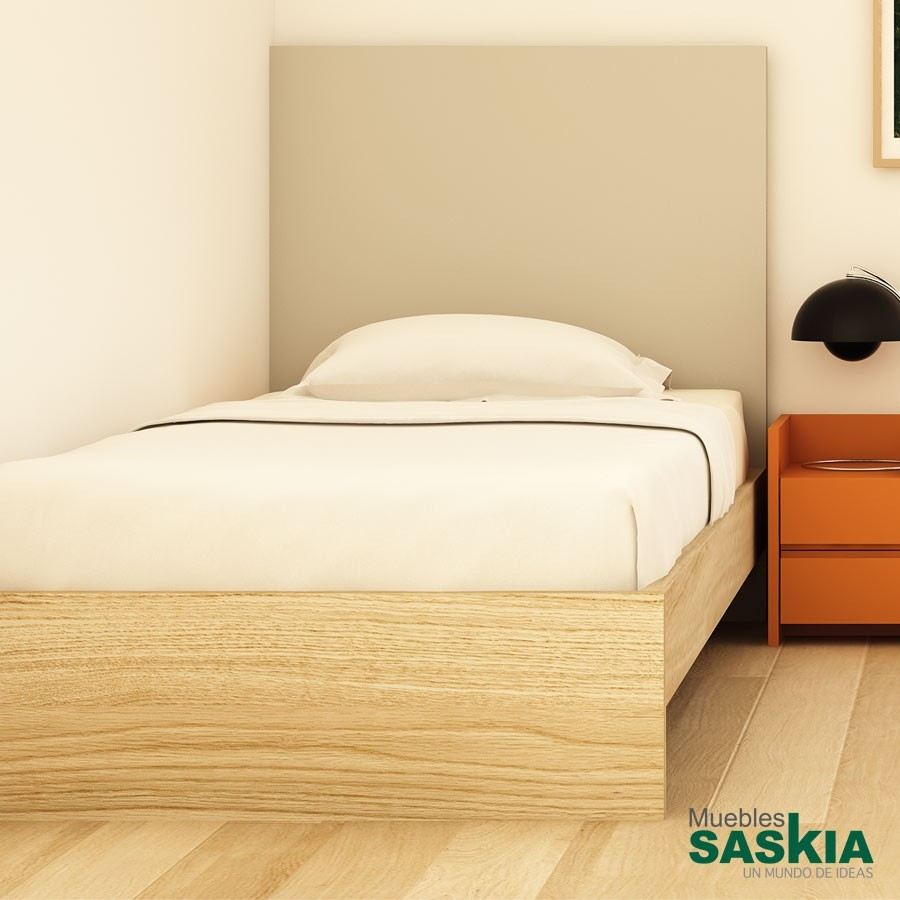 Cabecero Osbi para dormitorio moderno, juvenil
