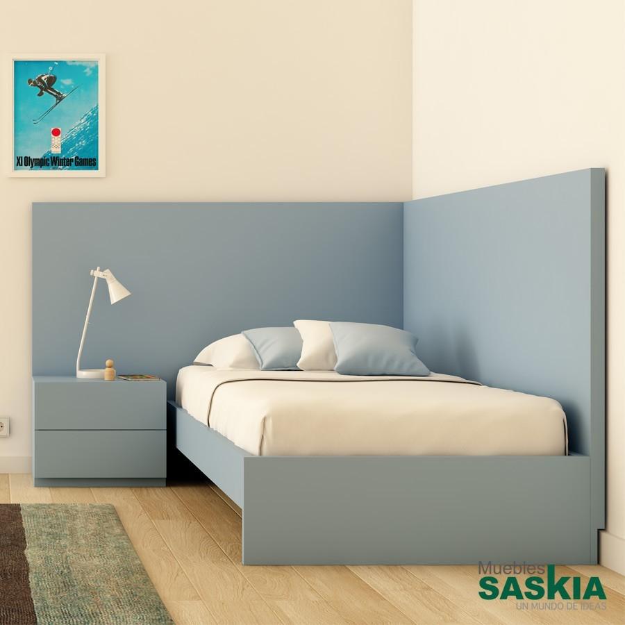 Cabeceros juveniles juvenil moderno muebles saskia en - Dormitorios juveniles pamplona ...