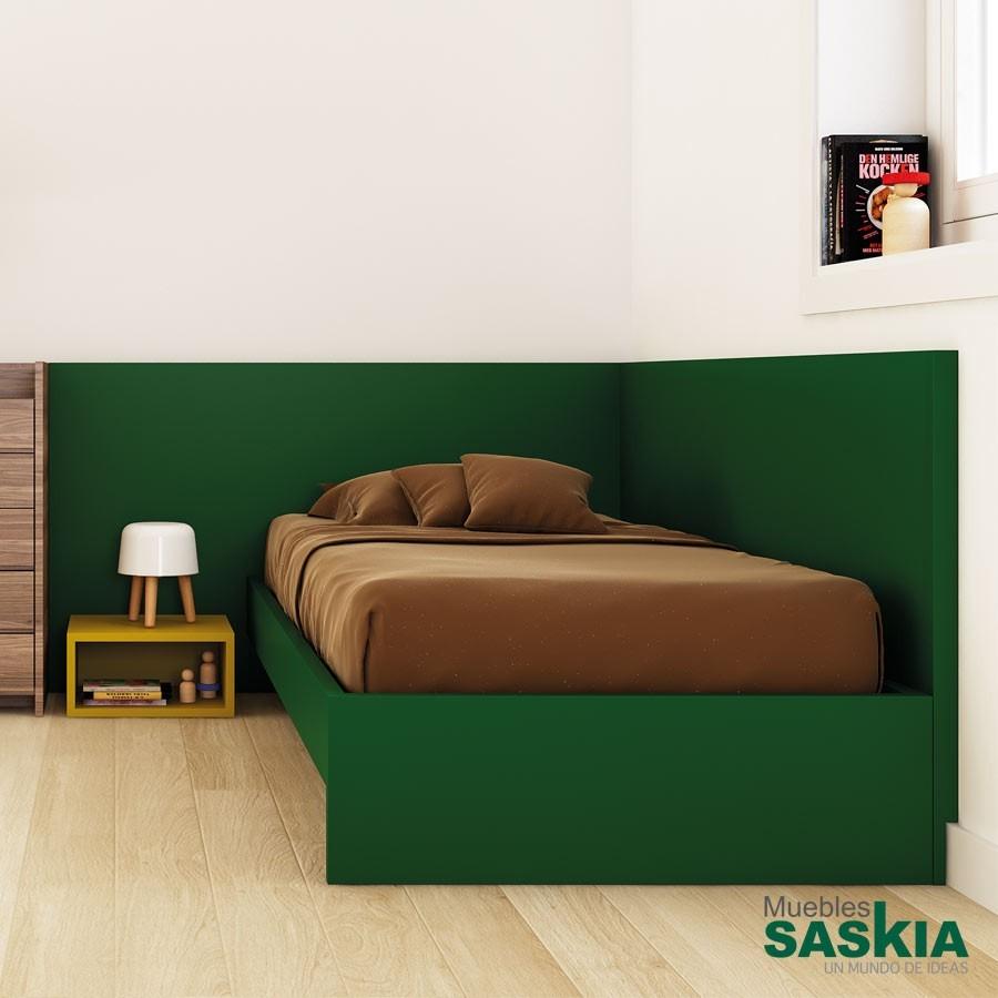 Cabecero Obi para dormitorio, 2 módulos, juvenil