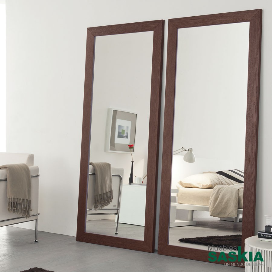 Espejos decoraci n moderno muebles saskia en pamplona - Espejos de suelo ...