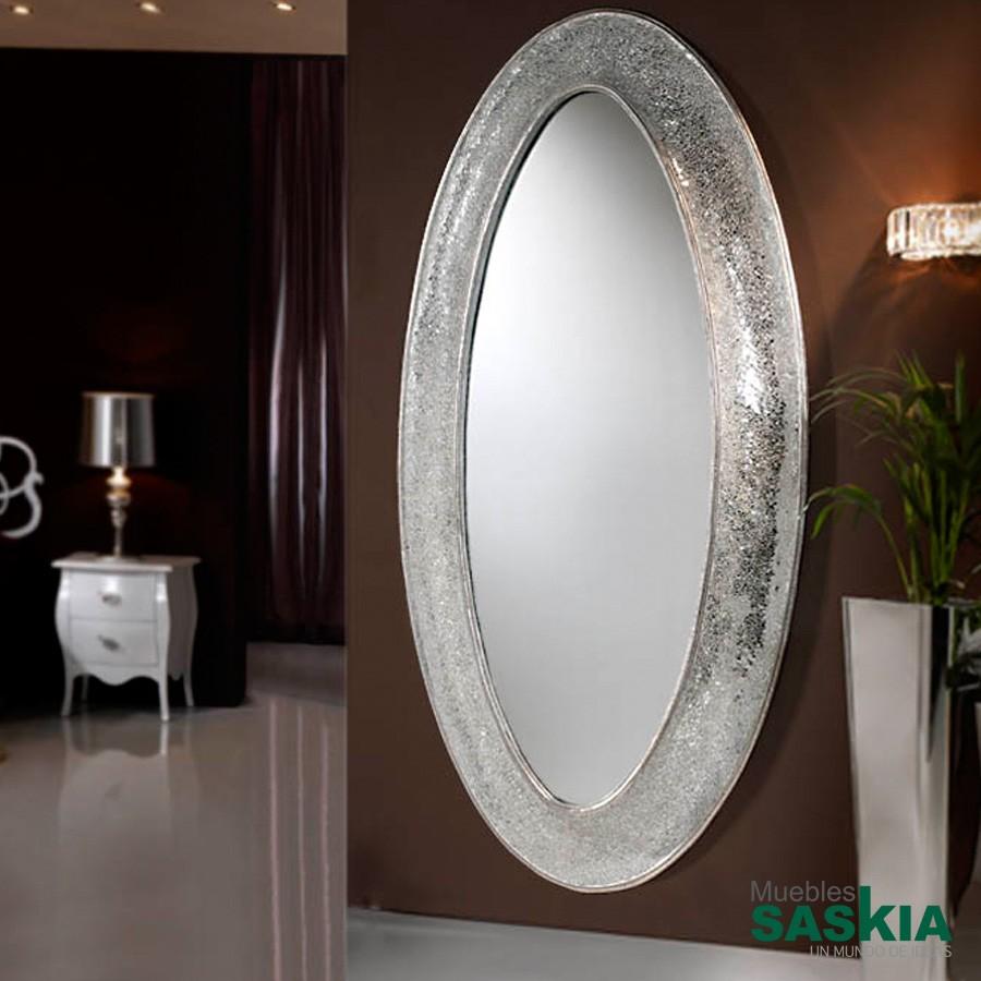 Espejo gaudi oval vestidor
