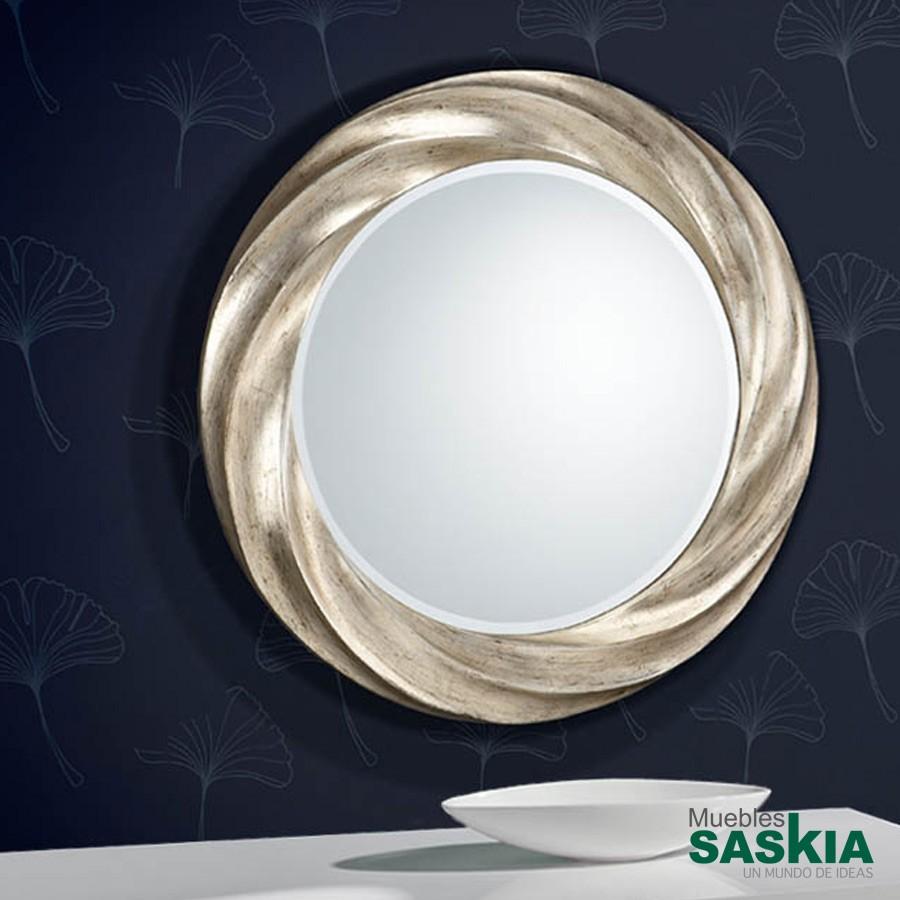 Espejo rodas redondo